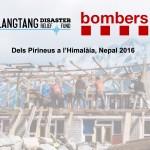 Dels Pirineus a l'Himàlaia, Nepal 2016. Bombers de la Generalitat.